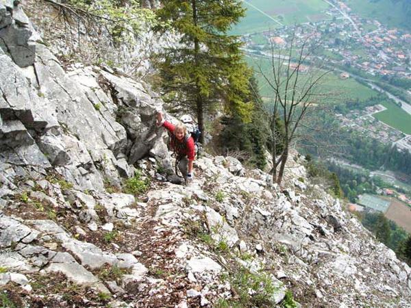 Klettersteig Wimmis : Klettersteig beschreibung sunnighornsteig