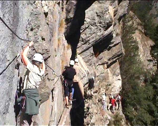 Klettersteig Wallis : Klettersteig beschreibung gorge alpine
