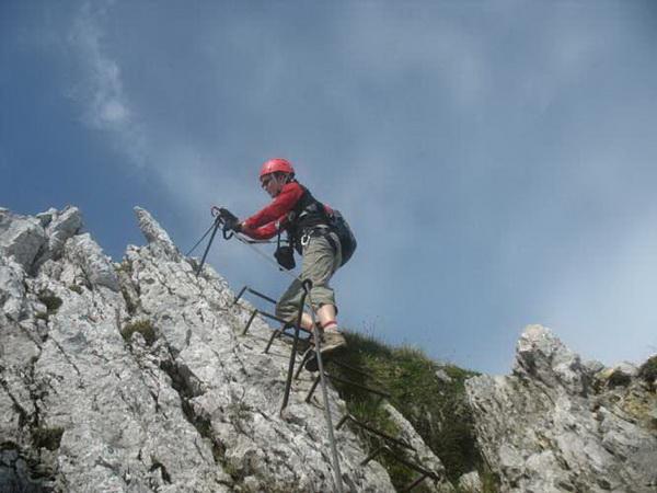 Klettersteig Mittenwald : Klettersteig beschreibung mittenwalder höhenweg