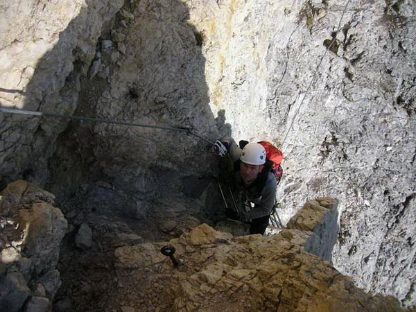 Klettersteig Magnifici Quattro : Klettersteig.de klettersteig beschreibung kesselkogel westanstieg