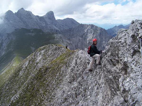 Klettersteig Nordkette : Klettersteig.de klettersteig beschreibung innsbrucker