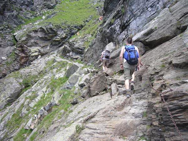 Klettersteig Meran : Klettersteig beschreibung hochgangsteig