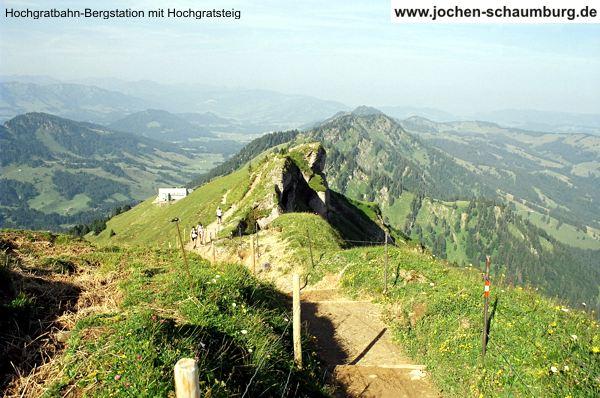 Klettersteig Immenstadt : Klettersteig.de klettersteig beschreibung hochgratsteig