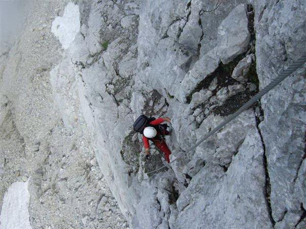 Klettersteig Lünersee : Klettersteig beschreibung blodigrinne