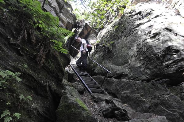 Klettersteig Sächsische Schweiz : Klettersteig.de klettersteig beschreibung johanniswacht
