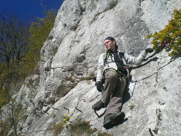 Klettersteig De : Klettersteig beschreibung oberlandsteig blau