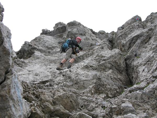 Klettersteig Verborgene Welt : Klettersteig.de klettersteig beschreibung allmaier toni