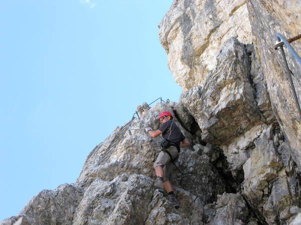 Klettersteig Leiter : Klettersteig.de klettersteig beschreibung leiternsteig