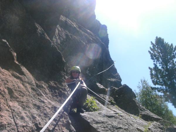 Klettersteig Zirbenwald : Klettersteig beschreibung moosalm