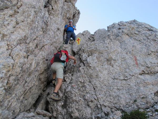 Klettersteig Däumling : Klettersteig.de klettersteig beschreibung zottachkofel