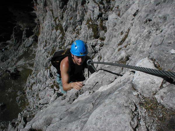 Klettersteig Hochkönig : Klettersteig.de klettersteig beschreibung grandlspitz