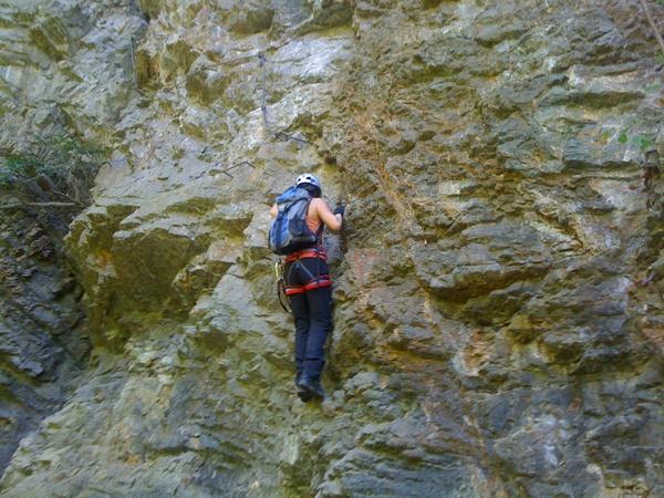 Klettersteig Via Kapf : Klettersteig beschreibung via Örfla