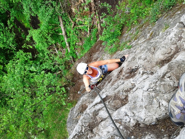 Klettersteig Quarzit Wand : Klettersteig beschreibung steinwand