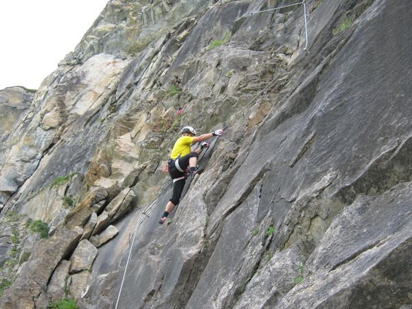 Klettersteig Zell Am See : Klettersteig.de klettersteig beschreibung arena