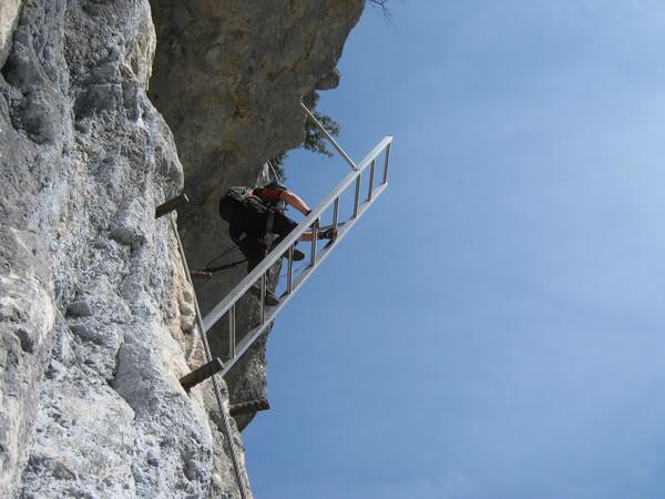 Klettersteig Seewand : Klettersteig beschreibung