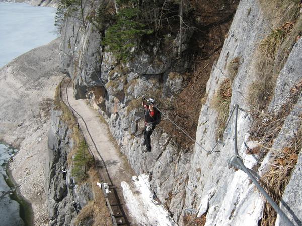 Laserer Alpin Klettersteig : Klettersteig beschreibung laserer alpin