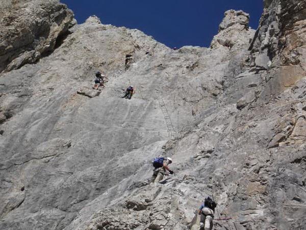Klettersteig Saulakopf : Klettersteig beschreibung sulzfluh
