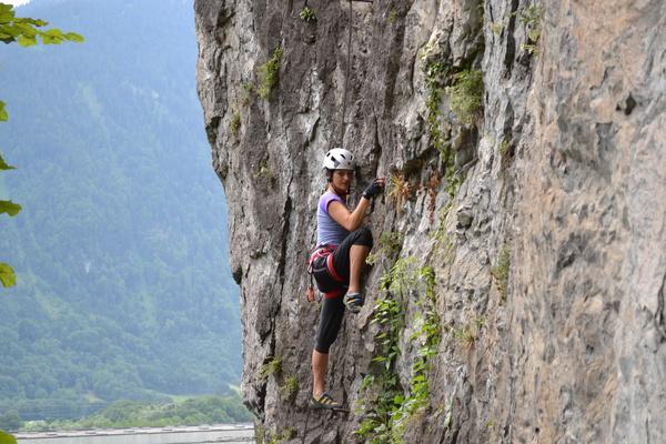 Klettersteig Bregenz : Klettersteig beschreibung franz