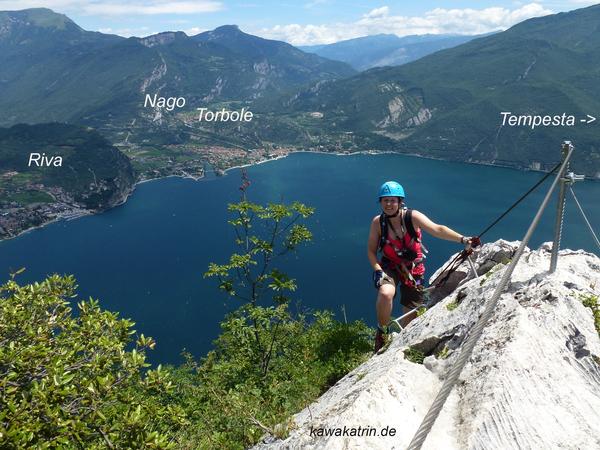 Klettersteig Cima Capi : Klettersteig.de klettersteig beschreibung via ferrata fausto susatti
