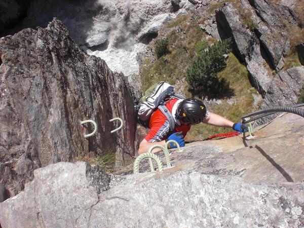 Klettersteig Zirbenwald : Klettersteig beschreibung obergurgler