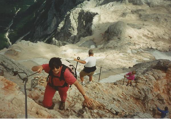 Klettersteig Soca Quelle : Klettersteig beschreibung gipfelklettersteig