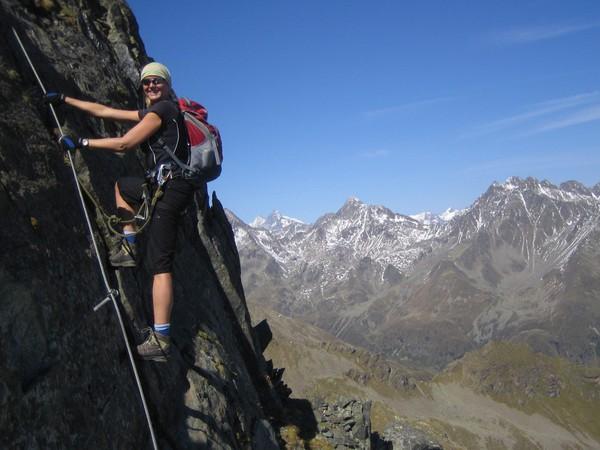 Klettersteig Osttirol : Klettersteig beschreibung schleinitz