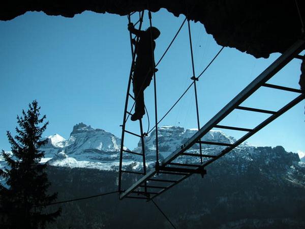 Klettersteig Allmenalp : Klettersteig beschreibung