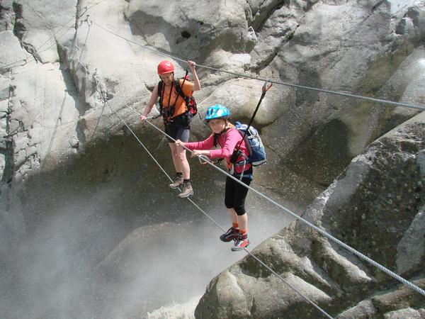 Klettersteig Zirbenwald : Klettersteig beschreibung erlebnissteig