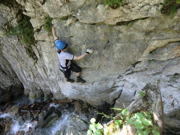 Vaude Klettersteig : Vaude schmugglersteig klettersteig gargellner köpfe youtube