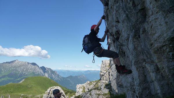 Klettersteig Comer See : Klettersteig beschreibung via ferrata pesciola