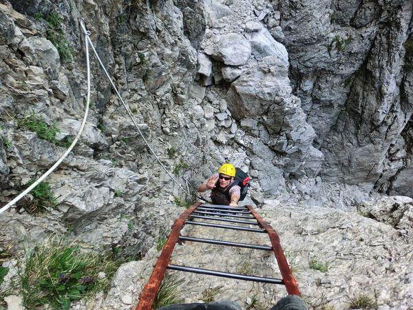 Klettersteig Comer See : Klettersteig beschreibung direttissima di