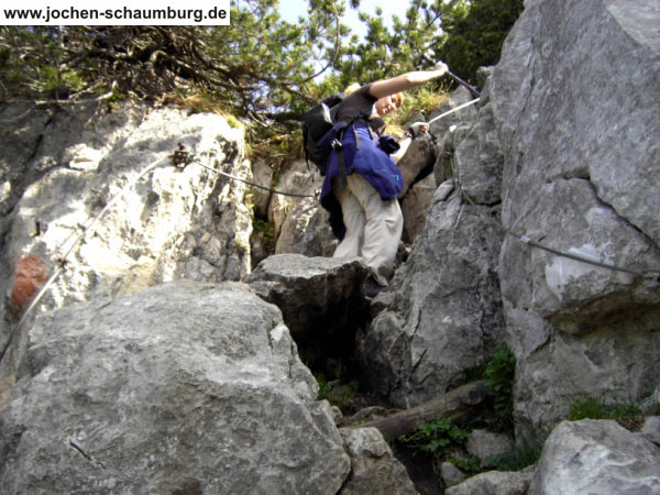 Klettersteig Tegernseer Hütte : Klettersteig beschreibung roßsteinsteig