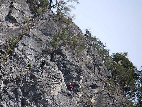 Klettersteig Quarzit Wand : Klettersteig beschreibung galugg