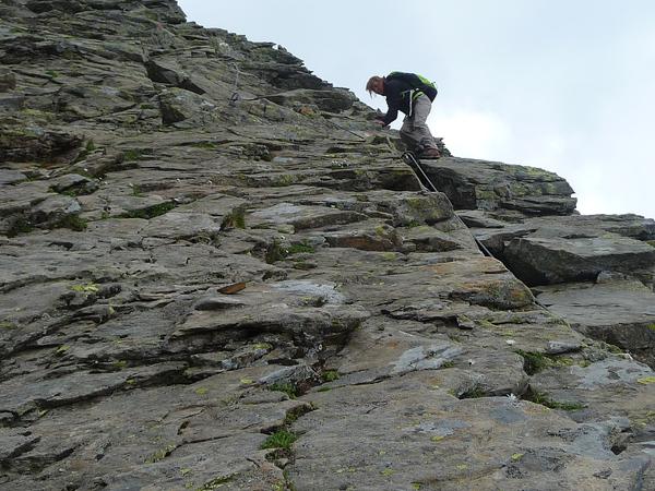 Klettersteig Ilmspitze : Klettersteig beschreibung habichtsteig