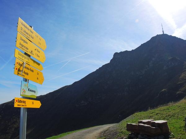 Klettersteig Kitzbüheler Horn : Panoramastraße zum kitzbüheler horn