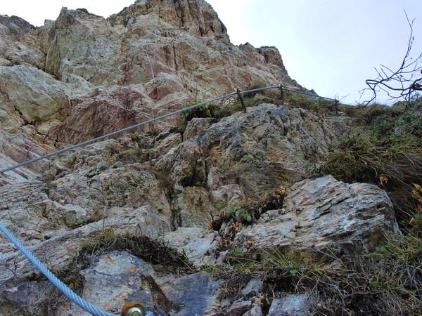 Klettersteig Kitzbüheler Horn : Klettersteig.de klettersteig beschreibung Übungsklettersteig