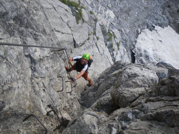 Klettersteig Bavaria : Klettersteig beschreibung saulakopf