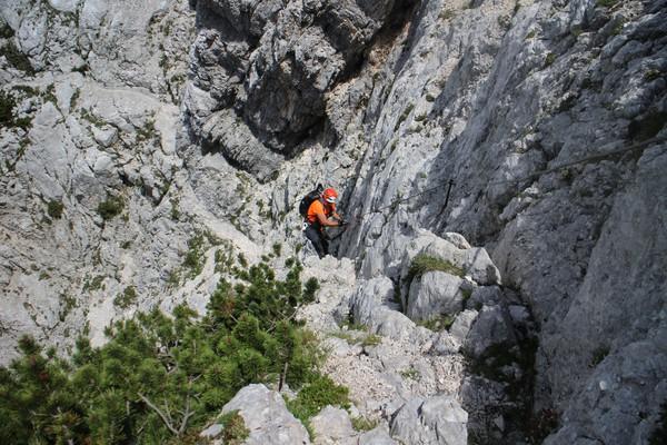 Klettersteig Soca Quelle : Klettersteig beschreibung tominsek steig