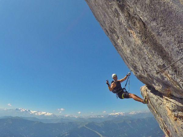 Klettersteig Johann Topo : Klettersteig beschreibung leoganger süd