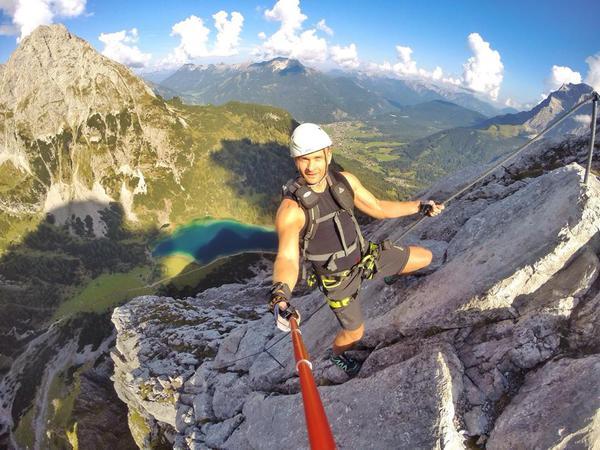 Klettersteig Coburger Hütte : Klettersteig beschreibung tajakante