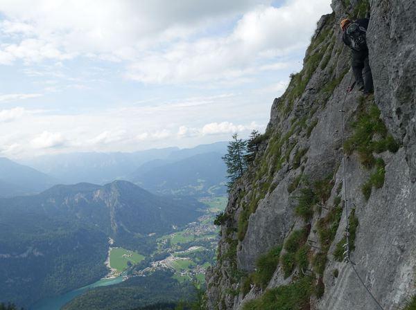 Klettersteig Jenner : Klettersteig beschreibung schützensteig