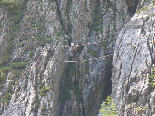 Klettersteig Verborgene Welt : Klettersteig.de klettersteig beschreibung verborgene welt
