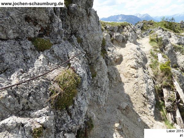 Klettersteig Oberammergau : Klettersteig beschreibung labersteig