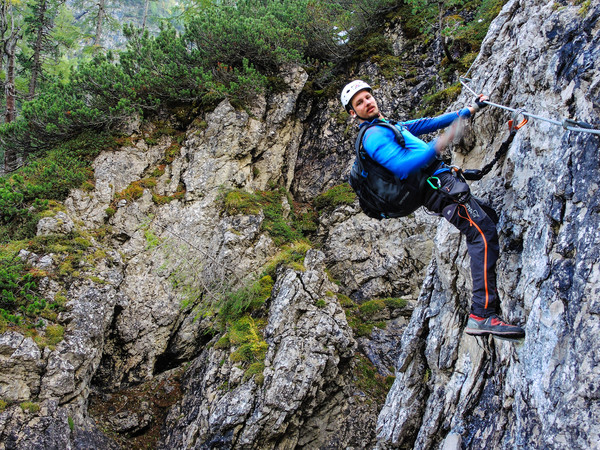 Klettersteig Lienz : Klettersteig beschreibung verborgene welt