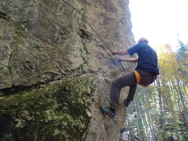 Hexensteig Klettersteig : Hexensteig b c auf den hexenturm jungfernsteig