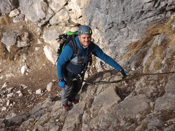 Klettersteig Oberammergau : Klettersteig beschreibung kofelsteig