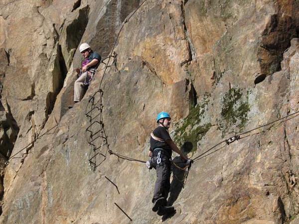 Y Set Klettersteig : Klettersteig beschreibung dav