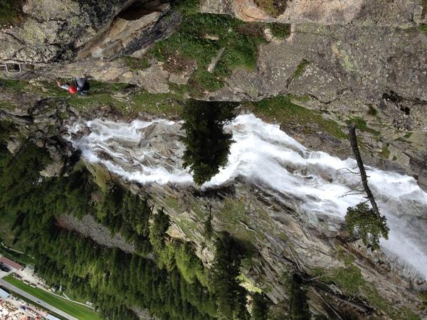 Klettersteig La Resgia : La resgia