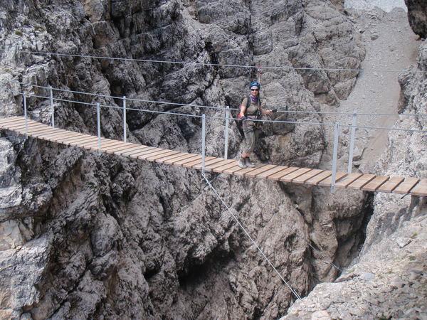 Klettersteig Croda Dei Toni : Klettersteig beschreibung via ferrata