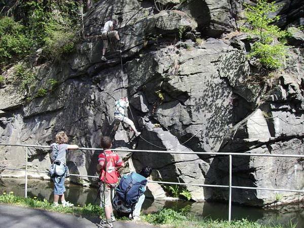 Klettersteig Wolkenstein : Klettersteig beschreibung dav